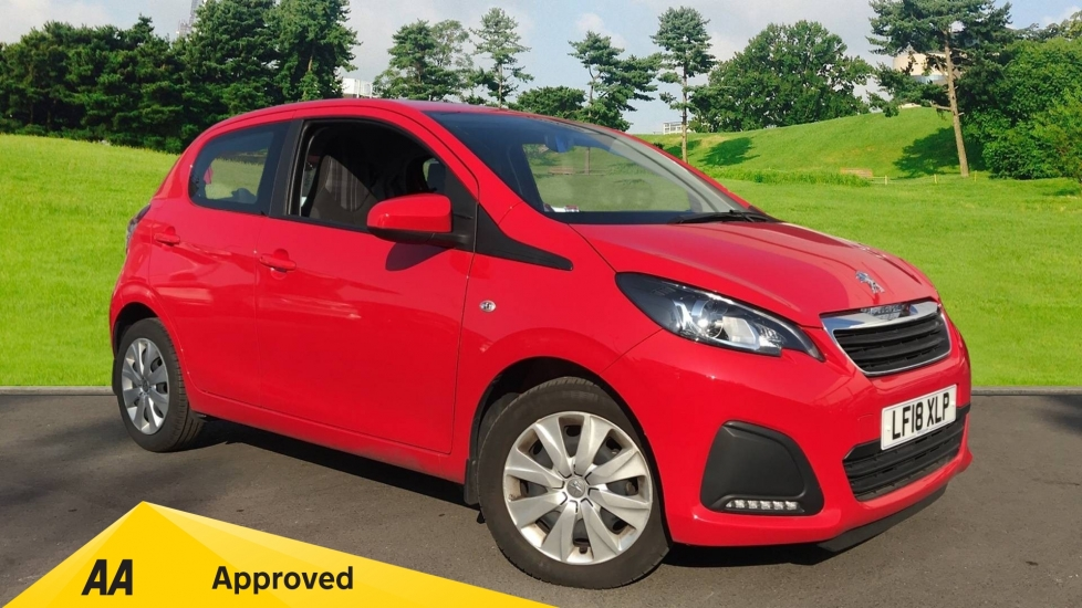 Peugeot 108 1.0 72 Active 5dr Hatchback (2018)