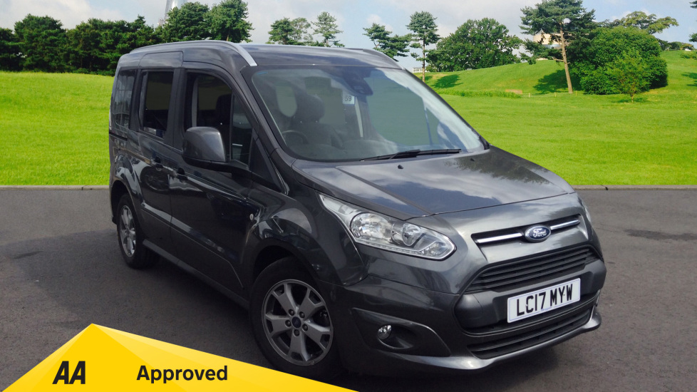 Ford Tourneo Connect Titanium 1.0T EcoBoost 100PS 5 door Estate (2017) available from County Motor Works Vauxhall thumbnail image