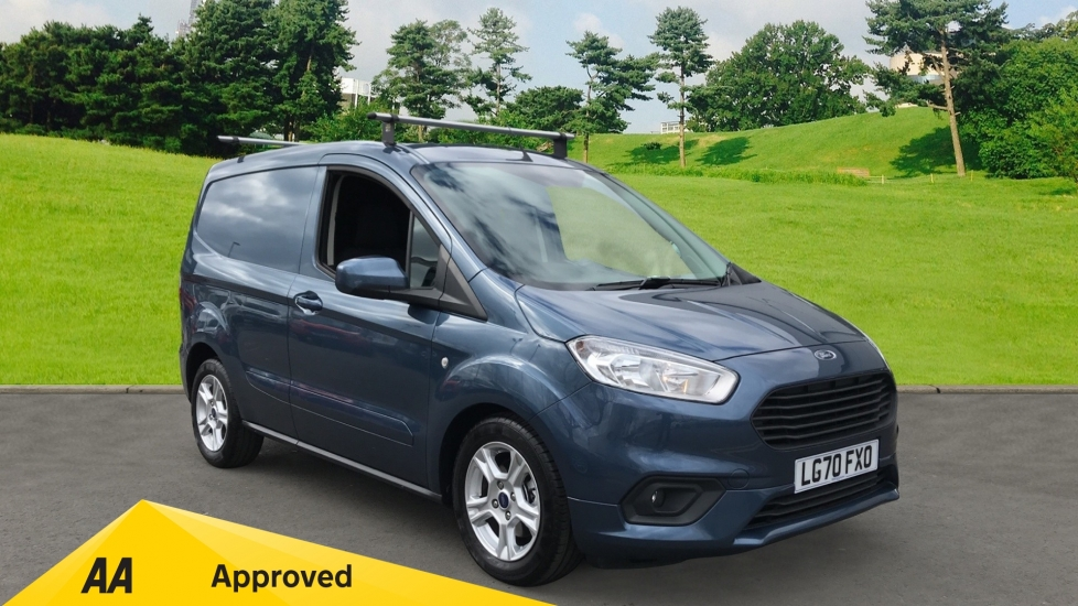 Ford Transit Courier 1.5 TDCi Limited NO VAT Diesel 4 door Van (2020)