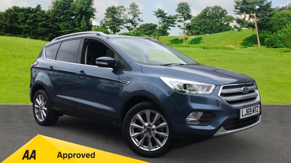 Ford Kuga 2.0 TDCi Titanium Edition 2WD, Low Mileage, SATNAV Diesel 5 door Estate (2019)