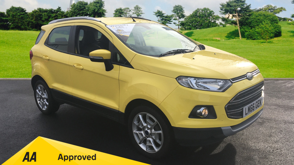 Ford EcoSport 1.5 Titanium 5dr Powershift [17in] Automatic Hatchback (2016)
