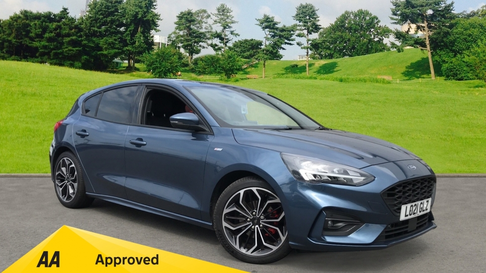 Ford Focus 1.5 EcoBlue 120ps ST-Line X, Heated Front Seats, Xenon Headlamps Diesel Automatic 5 door Hatchback (2021) image