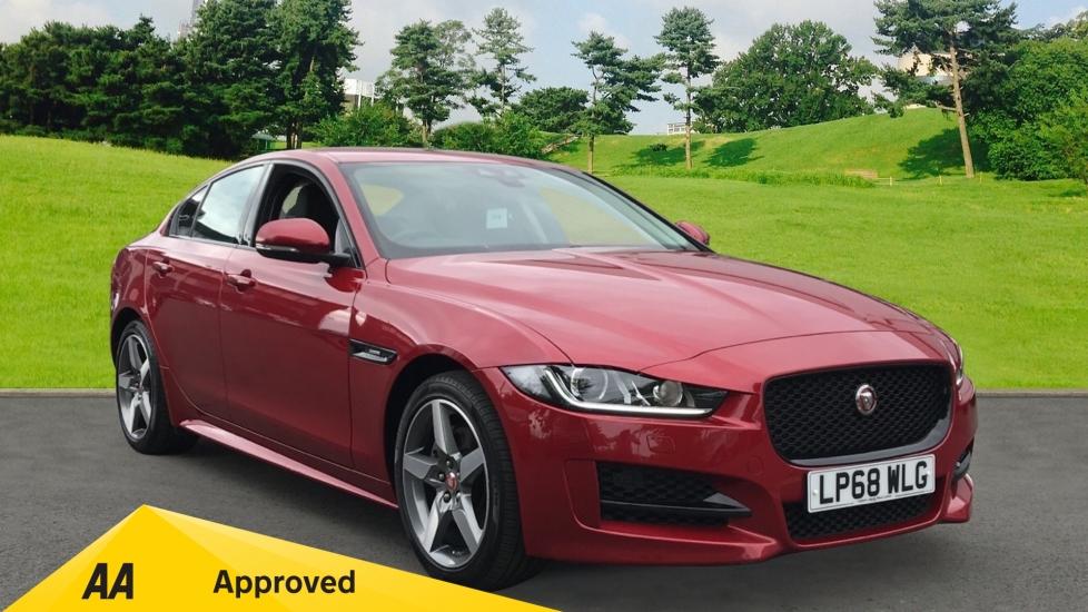 Jaguar XE 2.0d 180ps R-Sport, SATNAV, Euro 6 Rated Diesel Automatic 4 door Saloon (2018)