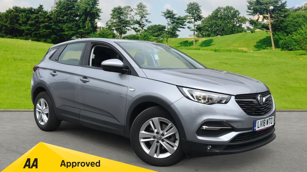 Vauxhall Grandland X 1.6 Turbo D SE, Euro 6 Rated, Air Conditioning Diesel Automatic 5 door Hatchback (2018)