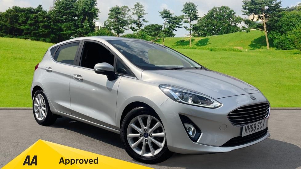 Ford Fiesta 1.0L EcoBoost Titanium, SATNAV, Air Conditioning Automatic 5 door Hatchback (2019)