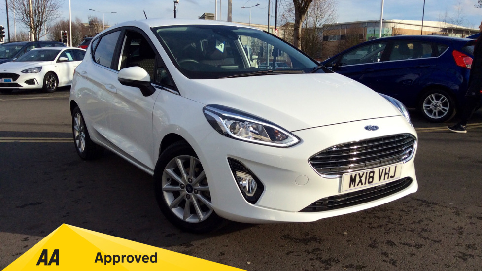 Ford Fiesta 1.0 EcoBoost Titanium 5dr Hatchback (2018) available from Bolton Motor Park Abarth, Fiat and Mazda thumbnail image