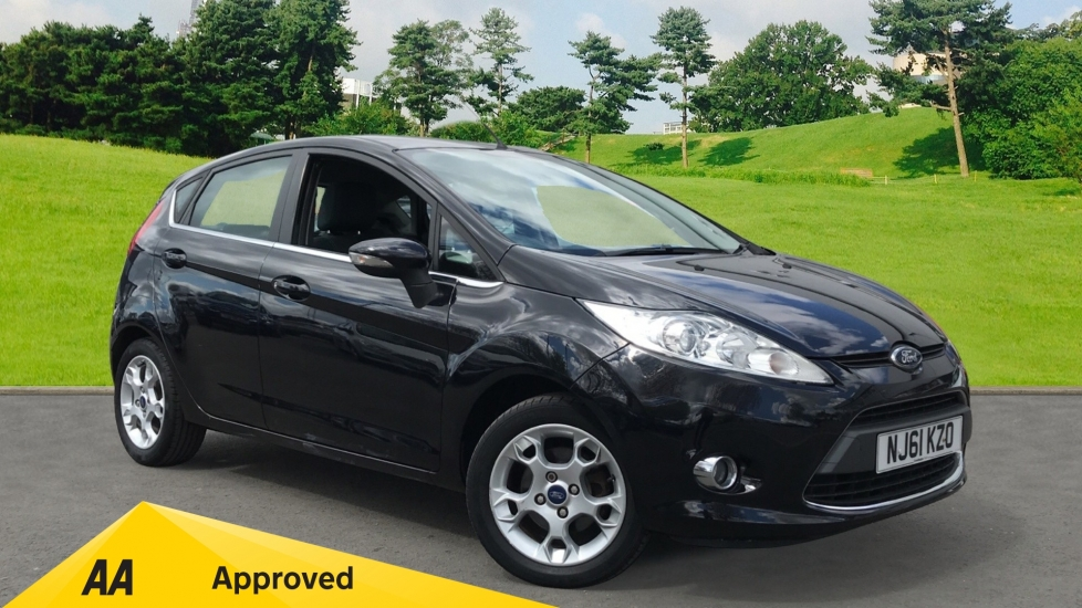 Ford Fiesta 1.4 Zetec Automatic 5 door Hatchback (2011)