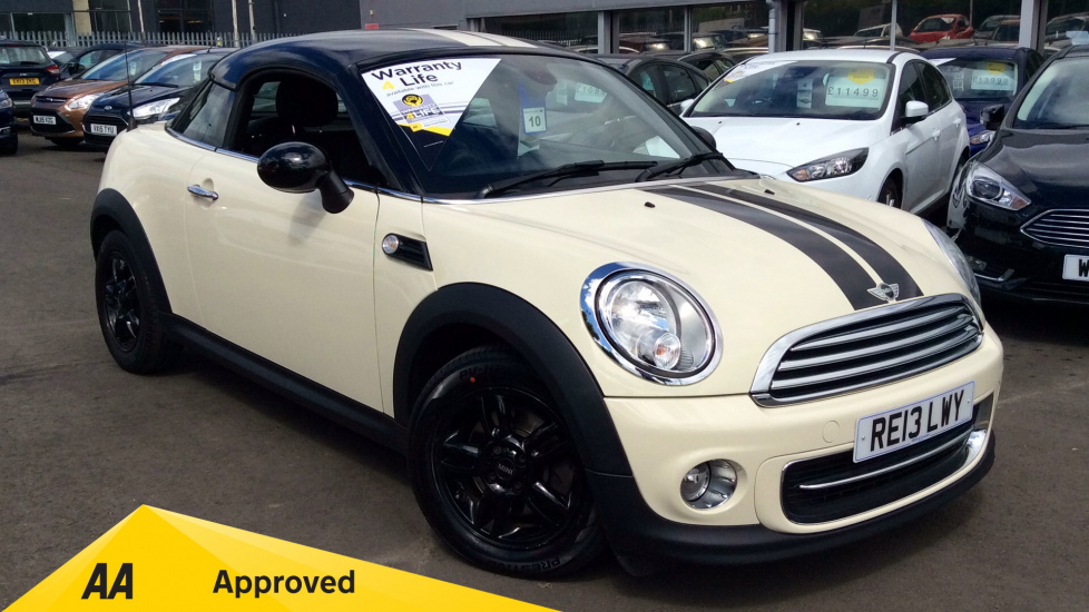 Mini Coupe 1.6 Cooper 3dr 2 door Coupe (2013) image