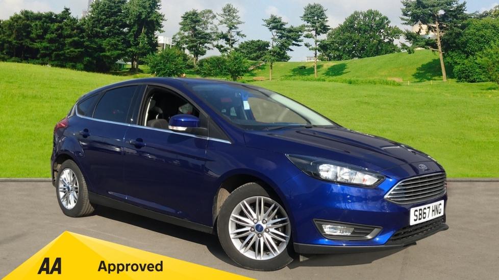 Ford Focus 1.0 EcoBoost 100ps Zetec Edition 5dr Hatchback (2018)