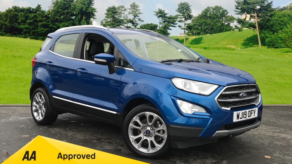Ford EcoSport 1.0 EcoBoost 125ps Titanium Automatic 5 door Hatchback (2019) available from Volvo Gatwick thumbnail image