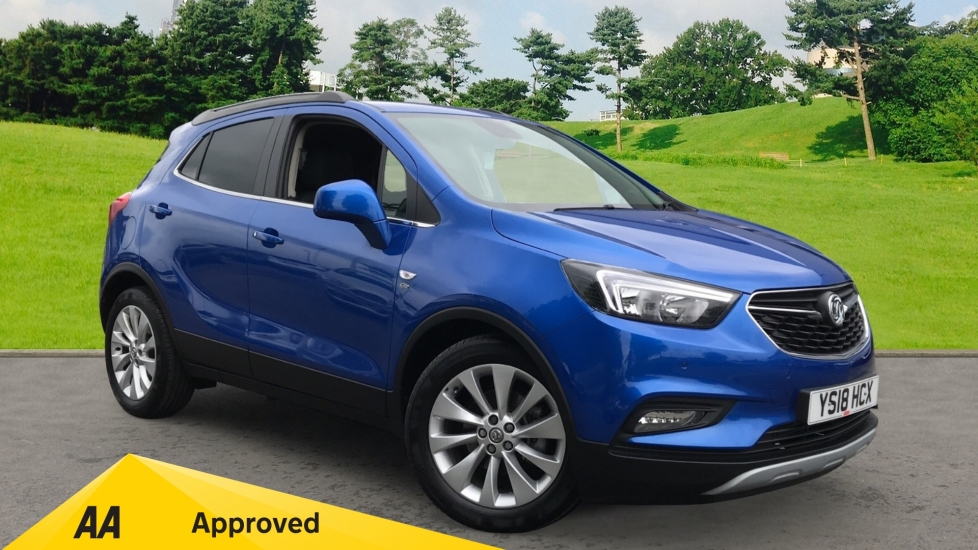 Vauxhall Mokka X 1.4T Elite Nav Turbo, SATNAV, Leather Upholstery Automatic 5 door Hatchback (2018)