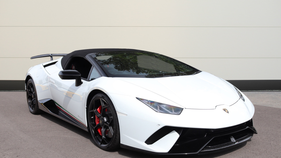 Lamborghini Huracan Performante Spyder 5.2 V10 640 2dr Auto AWD Automatic Convertible (2019) image