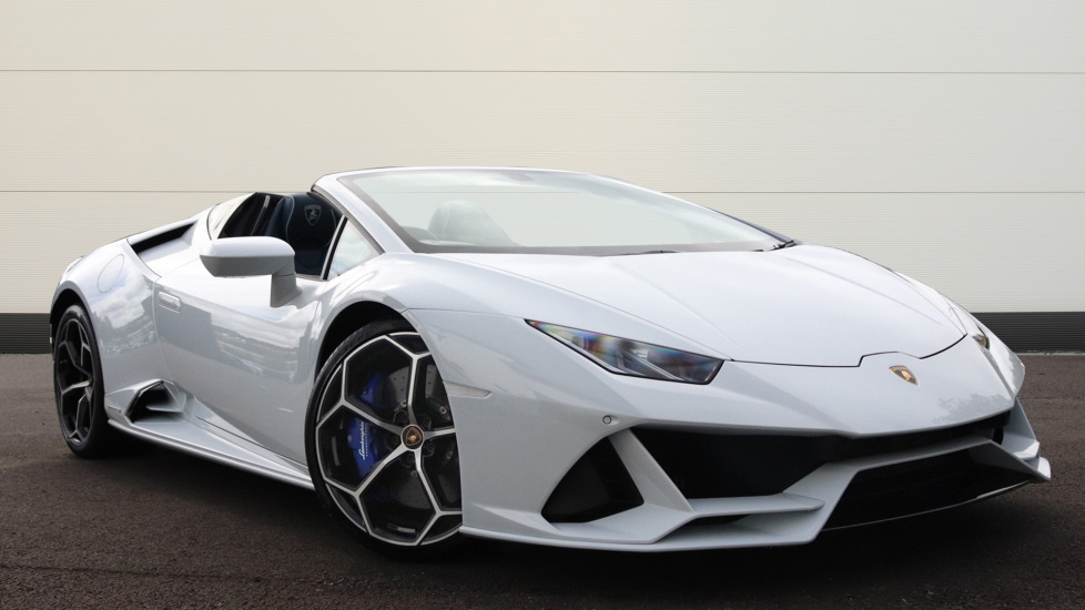 Lamborghini Huracan EVO Spyder LP 640-4 5.2 Semi-Automatic 2 door Convertible (2019) available from Bentley Chelmsford thumbnail image