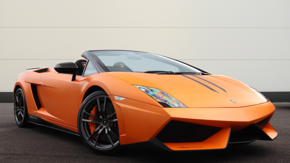 Lamborghini Gallardo LP570-4 Spyder Performante 5.2  Semi-Automatic 2 door Convertible (2012)