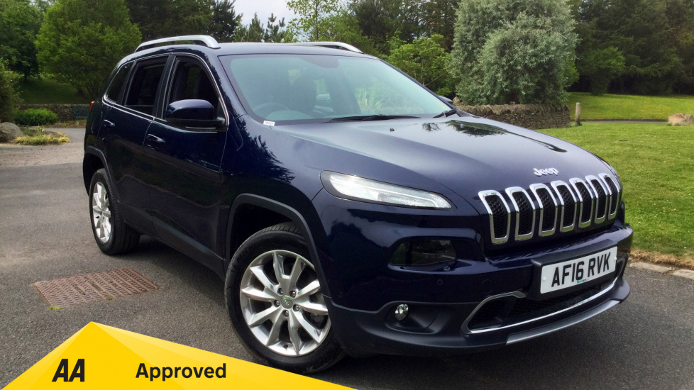 Jeep Cherokee 2.2 Multijet 200 Limited 5dr Diesel Automatic (2016) image