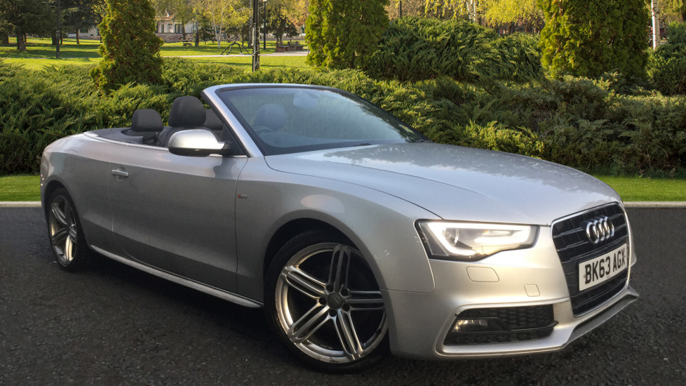 Audi A5 A5 S LINE SPECIAL EDITION  2.0 Diesel 5 door Convertible (2013) image