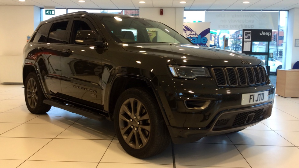Jeep Grand Cherokee 3.0 CRD 75th Anniversary 5dr [Start Stop] Diesel Automatic (2017) thumbnail image