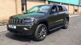 JEEP GRAND CHEROKEE V6 75TH ANNIVERSARY ESTATE, DIESEL, in GREEN, 2017 - image 8
