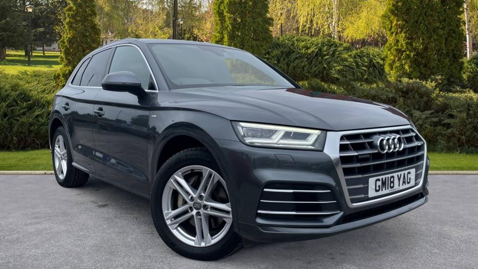 Audi Q5 3.0 TDI Quattro S Line 5dr Tip [Panoramic Glass Roof][Navigation] Diesel Automatic Estate (2018) image
