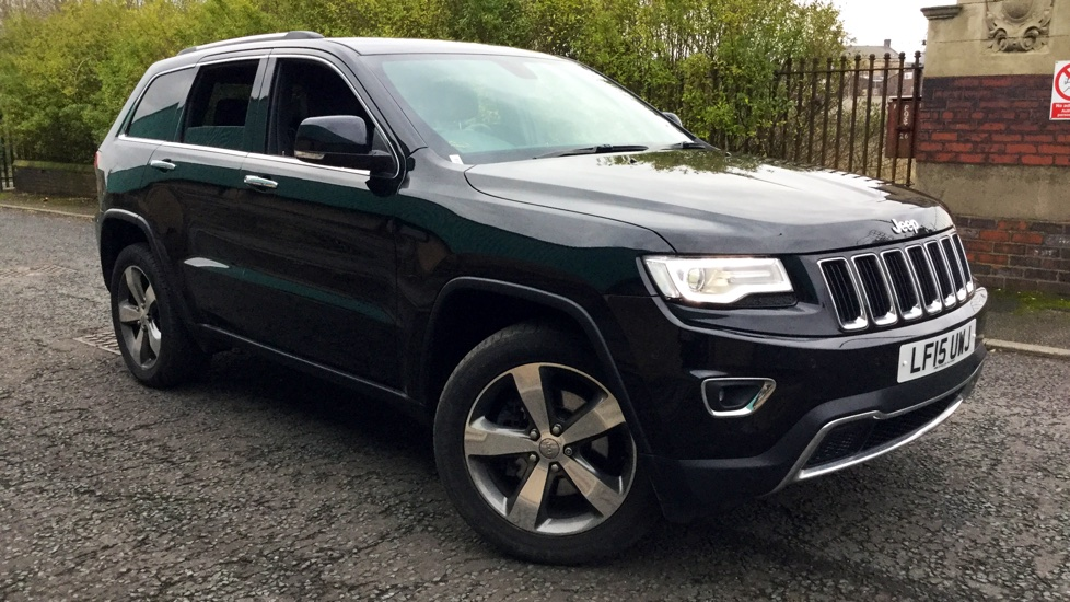 Jeep Grand Cherokee 3.0 CRD Limited Plus 5dr Diesel Automatic (2015) image