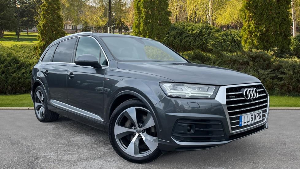 Audi Q7 3.0 TDI Quattro S Line [270] 5dr [Dynamic Pack][Park Assist Pack][Pan Roof] Diesel Automatic Estate (2016) image
