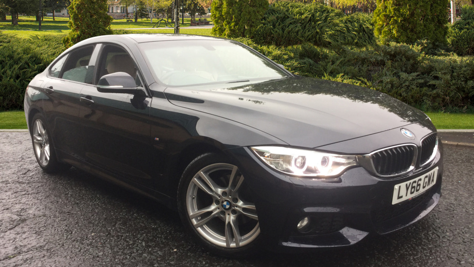 BMW 4 Series 420d [190] M Sport 5dr Hatchback with Professional Media, Heated Seats, Leather & Nav 2.0 Diesel Automatic (2016)
