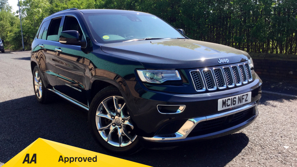 Jeep Grand Cherokee 3.0 CRD Summit 5dr [Start Stop] Diesel Automatic (2016) image