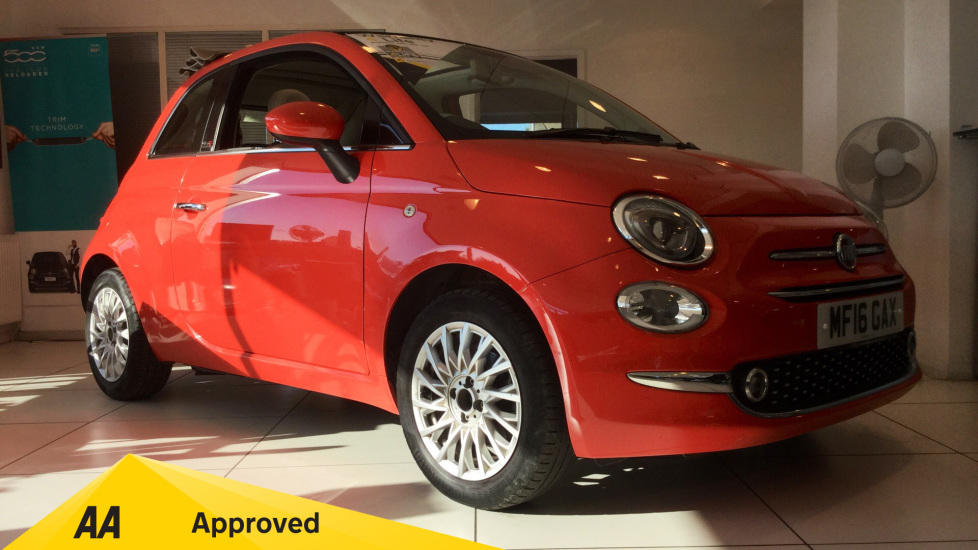 Fiat 500 1.2 Lounge 2dr Convertible (2016) image