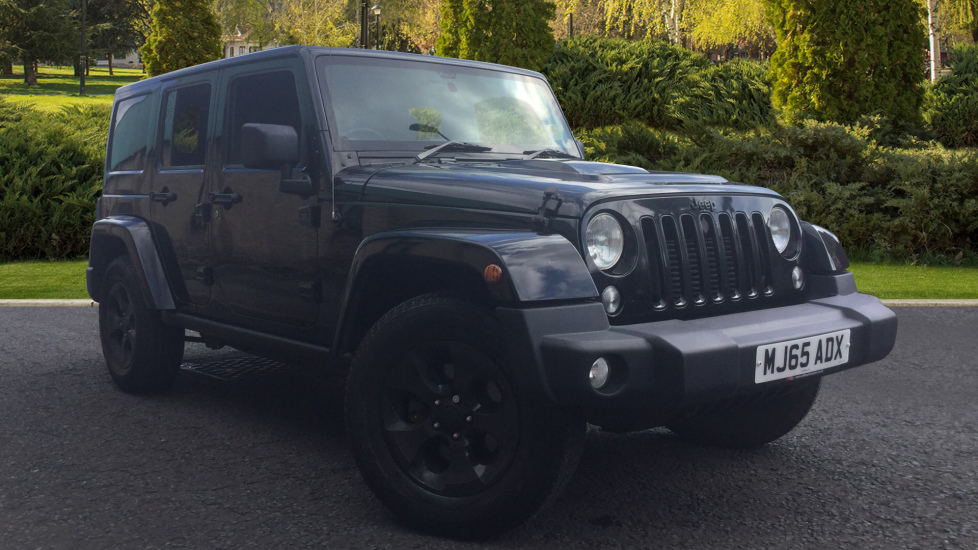 Jeep Wrangler 2.8 CRD Black Edition 4dr Diesel Automatic 5 door (2015) image