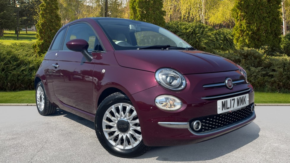 Fiat 500 1.2 Lounge 3dr [7-inch Screen][Air Con] Hatchback (2017)