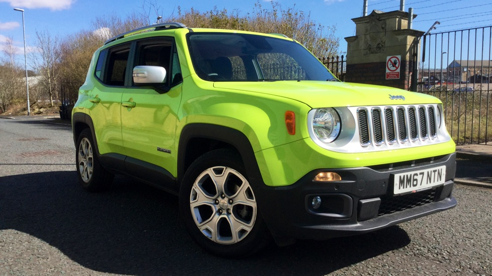 Jeep Renegade 1.6 Multijet Limited 5dr Diesel Hatchback (2017) image