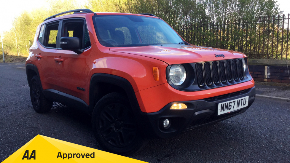 Jeep Renegade 2.0 Multijet Tough Mudder 5dr 4WD Diesel Automatic Hatchback (2018) thumbnail image