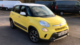 FIAT 500L TREKKING MPV, PETROL, in YELLOW/WHITE, 2017 - image 0