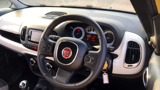 FIAT 500L TREKKING MPV, PETROL, in YELLOW/WHITE, 2017 - image 2