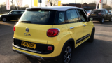 FIAT 500L TREKKING MPV, PETROL, in YELLOW/WHITE, 2017 - image 3