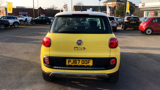 FIAT 500L TREKKING MPV, PETROL, in YELLOW/WHITE, 2017 - image 4
