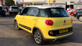 FIAT 500L TREKKING MPV, PETROL, in YELLOW/WHITE, 2017 - image 5