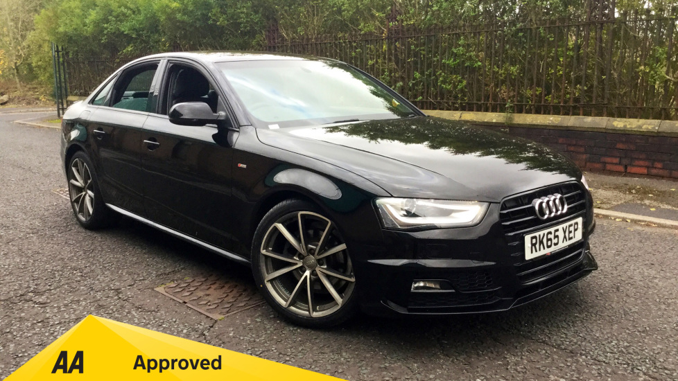 Audi A4 2.0 TDI 150 Black Edition [Nav] with Bang and Olufsen 3D Sound System, SAT NAV and Rear Park Assist. Diesel 4 door Saloon (2015) image
