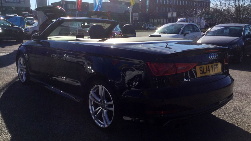 Audi A3 1 4 TFSI S Line 2dr 5 door Cabriolet (2014) at Fiat and Jeep Oldham  Motors