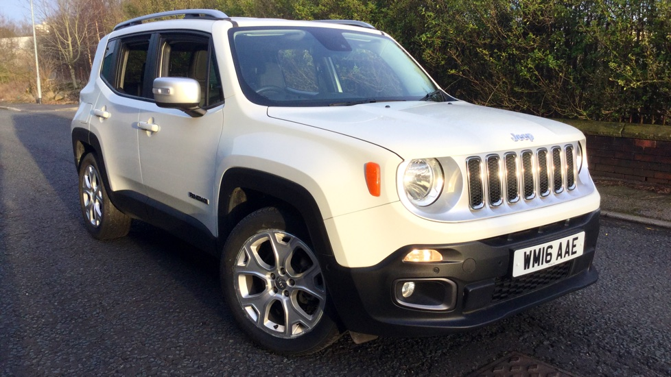 Jeep Renegade 1.6 Multijet Limited 5dr Diesel Hatchback (2016)