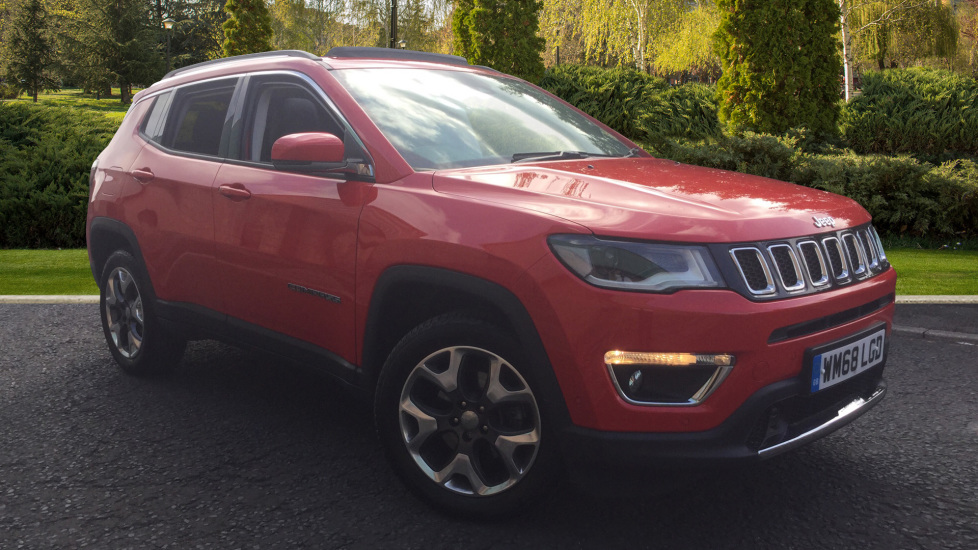 Jeep Compass 2.0 Multijet 170 Limited 5dr Diesel Automatic Estate (2018) image