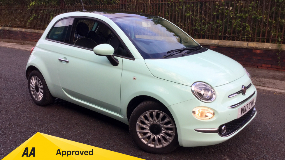 Fiat 500 1.2 Lounge 3dr Hatchback (2017) at Fiat and Jeep Oldham Motors thumbnail image