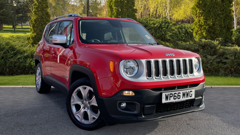 Jeep Renegade 1.6 Multijet Limited 5dr Diesel Hatchback (2016) image