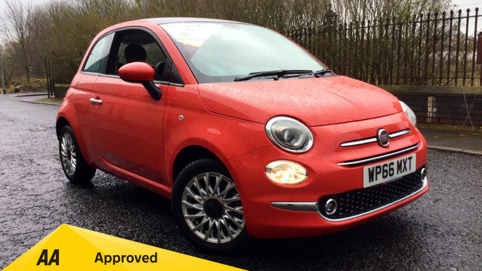 Fiat 500 1.2 Lounge 3dr Hatchback (2016) at Warrington Motors Fiat