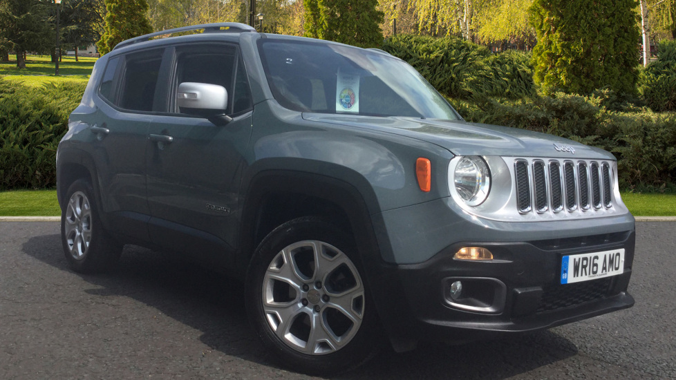 Jeep Renegade 2.0 Multijet Limited 5dr 4WD Diesel Hatchback (2016)
