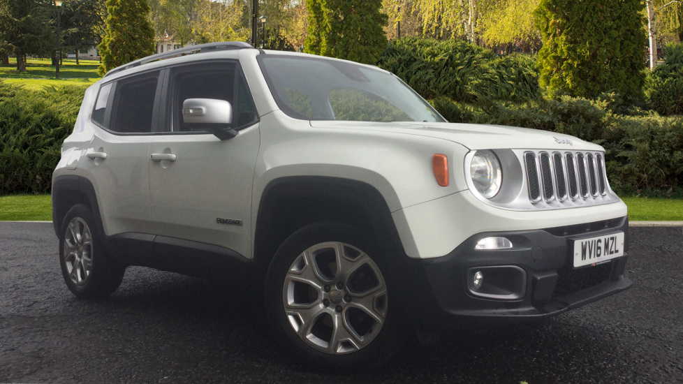 Jeep Renegade 1.4 Multiair Limited 5dr 4WD Automatic Hatchback (2016)