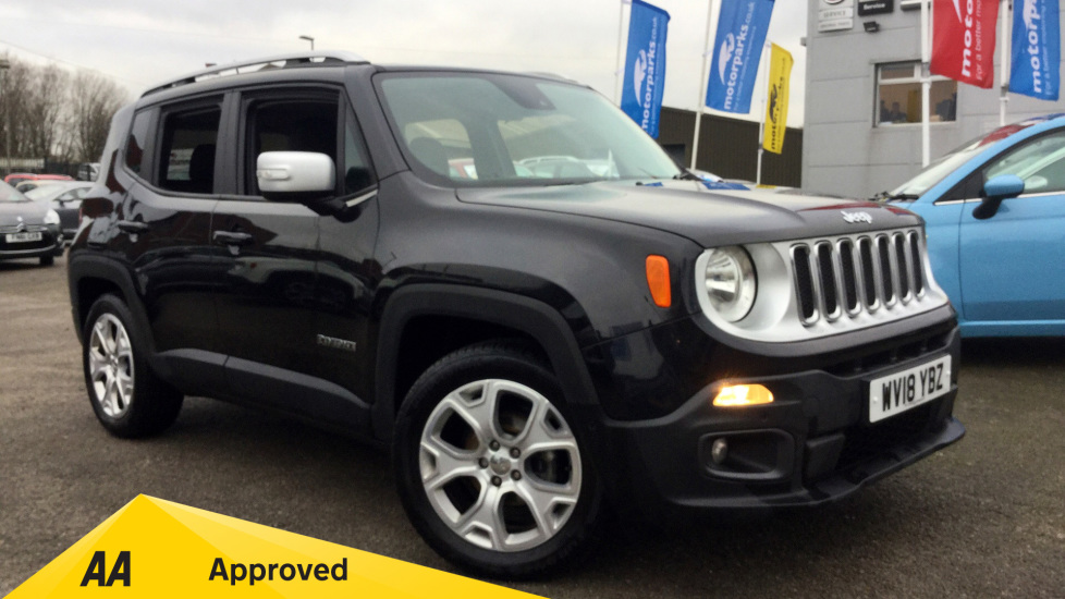 Jeep Renegade 1.6 Multijet Limited 5dr Diesel Hatchback (2018) image