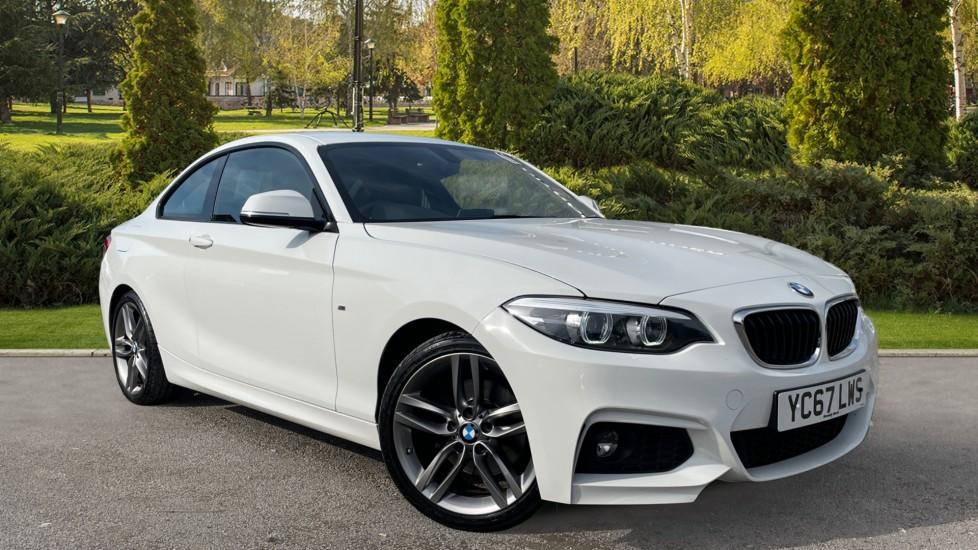BMW 2 Series 220d M Sport [Nav] Step [Heated Seats][Bluetooth] 2.0 Diesel Automatic 2 door Coupe (2017)