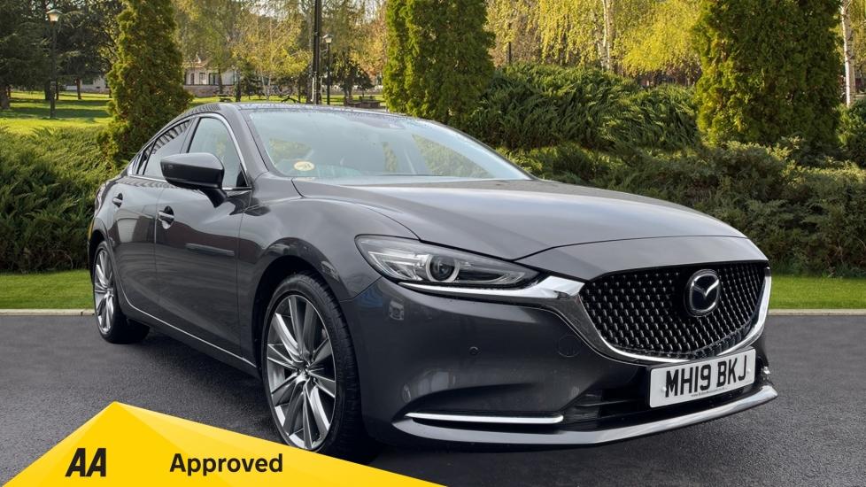 Mazda 6 2.0 Sport Nav+ 4dr - Front/Rear Reverse Camera, Sat Nav, Heated Seats/Steering Wheel Saloon (2019) image