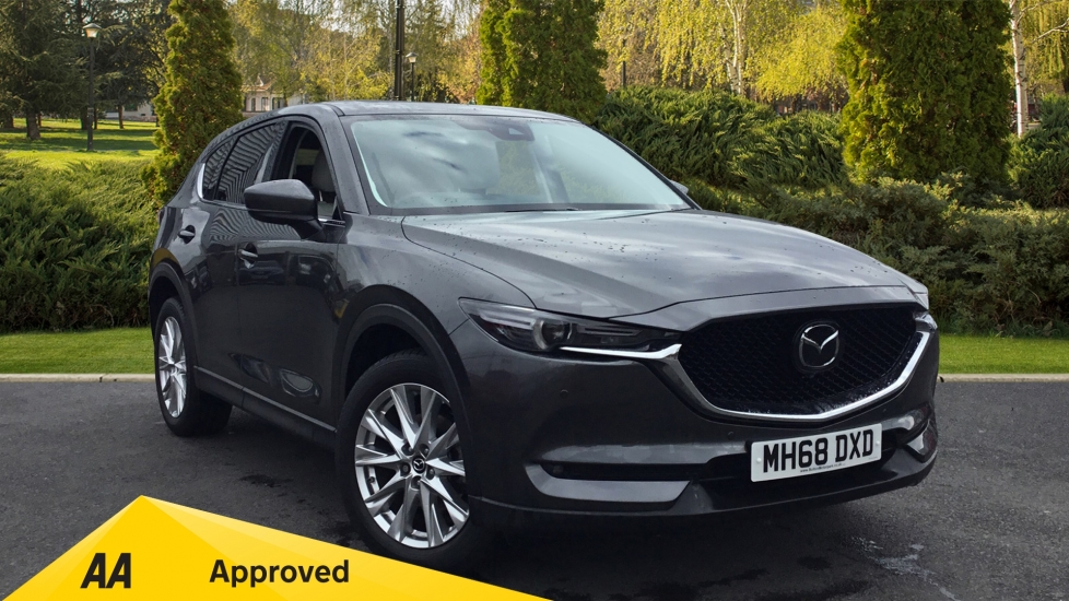 Mazda CX-5 2.2d [184] Sport Nav+ 5dr AWD STONE LEATHER + SAFETY PACK Diesel Estate (2019) image
